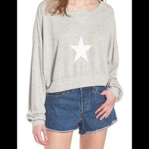 WILDFOX NWT All Star Nella Pullover Sweatshirt